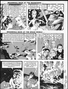 Mad Magazine in the 60's had one of the greatest caricaturists in Mort Drucker. Loused-Up in Space 04