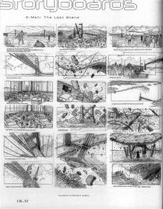 X-Men 3 Story Boards