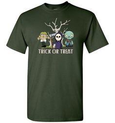 Kids Trick Or Treat Halloween T-Shirt