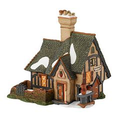 Department 56: Products - Strawberry Cottage - View Lighted Buildings