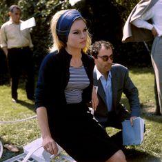 Brigitte Bardot in Jean-Luc Godard's Le Mépris  1963.