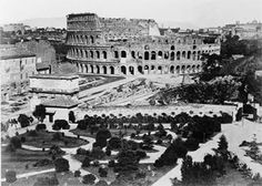 The Colosseum. Rome, Italy. (Image courtesy of Library of Congress, Prints and Photographs Division [reproduction number, LC-USZ62-104882 (b film copy neg.)]