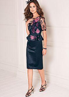 Peplum Dress #kaleidoscope #floral #loveflorals