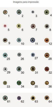 Biscuit Passo a Passo: Como fazer Pintura de olhos