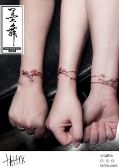 Jodic Chan 墨舞 - Cherry Blossom Bracelet