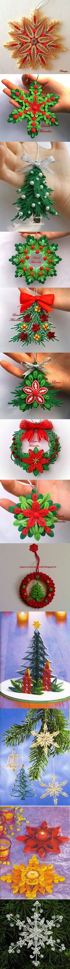 Quilling Art for Christmas