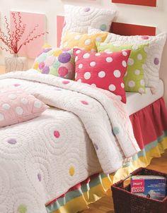 Daisy Garden Quilt Quilt Bedding Girls Comforter Sets Pink Quilts