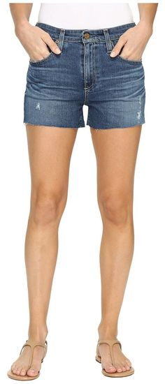 AG Adriano Goldschmied Sadie Shorts in 8 Years Misty Dawn (8 Years Misty Dawn) Women's Shorts - AG Adriano Goldschmied, Sadie Shorts in 8 Years Misty Dawn, LED1530-RH-485, Apparel Bottom Shorts, Shorts, Bottom, Apparel, Clothes Clothing, Gift, - Street Fashion And Style Ideas