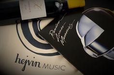#DaftPunk und #Bordeaux –das Geschenk für alle, die #Wein und #Musik lieben. #vinyl #feineweingeschenke #HejvinMusic