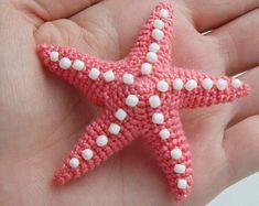 PDF PATTERN Crochet amigurumi toy Little red crab
