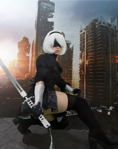 Game: Nier Automata Character: cosplayer: : private ----------------------------- the picture is Not Mine --------------------------------- Cute Cosplay, Amazing Cosplay, Cosplay Girls, Cosplay Style, Chica Fantasy, Fantasy Girl, Cyberpunk Girl, Comic Book Girl, Shadow Warrior
