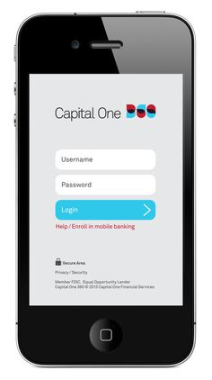 Capital One 360 Mobile App by Silas Reeves