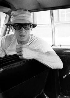 Boston, Massachusetts.      Steve McQueen, 1967.