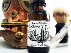 For the bearded man in your life!  https://www.etsy.com/listing/184870710/sea-witch-botanicals-sirens-folly-a-man