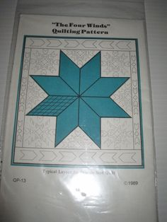 Quilt Pattern The Four Winds