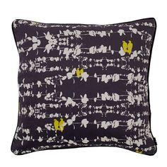 Bamena Velvet Dark Night Cushion