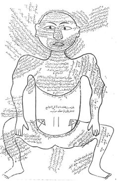 From The Anatomy of the Human Body (Tashrih-i badan-i insan) written in Persian at the end of the 14th century by Mansur ibn Ilyas.
