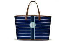 The St. Anne Tote - Spring Monogram 2016
