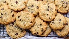 The perfect recipe for people who prefer their chocolate chip cookies thick and chewy.