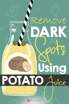 Using Potato Juice, You Can Remove Dark Spots In Just 3 Days