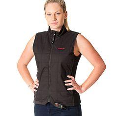 Motorcycle apparel | Heated Vest | Black | Available online @ www.motofemmes.com.au