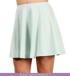 #Windsor                  #Skirt                    #Mint #Skuba #Skater #Skirt                         Mint Skuba Skater Skirt                             http://www.seapai.com/product.aspx?PID=1756549
