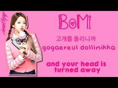 A Pink - Like A Dream #apink #likeadreamlyrics #romanization