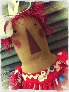 Raggedy Annie ... by Homespun Hugs and Calico Kisses Primitives ♥