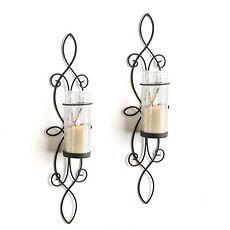 Black Heart Candle Sconce  Hearts  Pinterest  Black Heart Best Candle Wall Sconces For Dining Room Design Inspiration