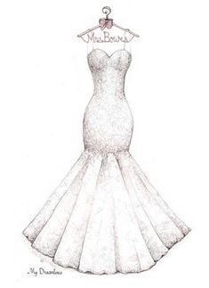 Bridal Shower Gift Wedding Dress Sketch bride gift from maid of honor bride gift from bridesmaid bride gift from mom bridal gift ideas Wedding Dress Sketches, Dress Design Sketches, Fashion Design Drawings, Fashion Sketches, Wedding Dresses, Bride Gifts From Maid Of Honour, Bridal Shower Gifts For Bride, Wedding Gifts For Bridesmaids, Gift Wedding