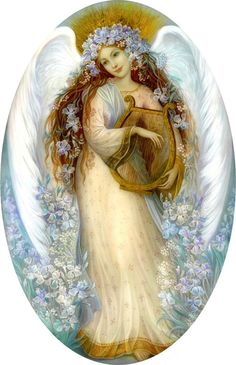 """Angel with Iris"" par Nadia Strelkina"