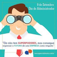 Para ter um bom desenvolvimento empresarial precisamos de vocês!  Feliz Dia Do Administrador  #9desetembro #administração #adm #administrador #diadoadministrador http://ift.tt/1L1BWpl