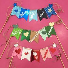 Banderines ⛳️ de Cumpleaños  Disponibles en Tienda #floristeria #tarjeteria #regalos #peluches #ymas #Dencantos #Creacionesdencantos