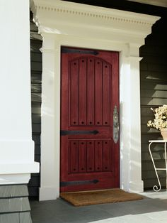 A Mastercraft® Prehung Exterior Door is a great addition to any new or improved house! Available in many colors and constructions youu0027ll find theu2026 & A Mastercraft® Prehung Exterior Door is a great addition to any new ...