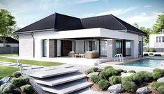 Finde Bau- und Einrichtungsprojekte von Experten für Ideen & Inspiration. Projekt domu HomeKONCEPT 48 von HomeKONCEPT   Projekty Domów Nowoczesnych   homify