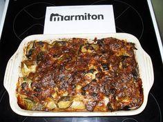 Gratin de courgettes, pommes de terre et oignons - Recette de cuisine Marmiton : une recette