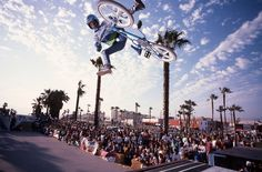 Ron Wilkerson / Venice Beach (1985) photo by Windy Osborn