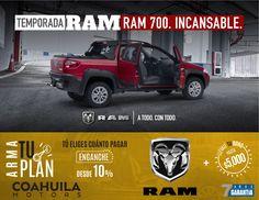 Ram 700 está diseñada para darlo todo en cualquier trabajo.