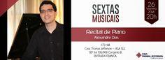 Bom pra Cabeça & Rádio Clube da Boa Música - Posts Programa completo do pianista Alexandre Dias nesta sexta em Brasília