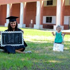"""But have my dog with the sign that says """"for me"""" - Graduation pictures,high school Graduation,Graduation party ideas,Graduation balloons Nursing Graduation Pictures, College Graduation Pictures, Nursing School Graduation, Grad Pics, Graduation Day, Grad Pictures, Graduation Outfits, Prom Photos, Bentley College"""