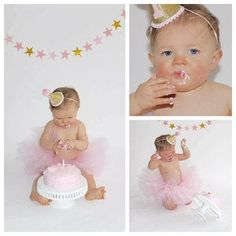 First Birthday Outfit Girl Cake Smash Outfit Girl Pink and First Birthday Outfit Girl, 1st Birthday Girls, Cake Smash Outfit Girl, Carters Just One You, Glitter Cards, Birthday Cake Toppers, Baby Sewing, Party Hats, Pink Girl