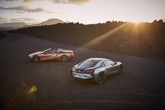 Facelift pentru BMW i8 Roadster şi BMW i8 Coupé