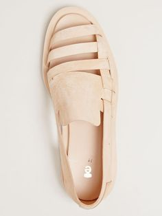 ETS Callatay flat weaver sandals. Love how raw and unadorned they look. #spring2013