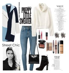 """Street Chic"" by soniaaicha on Polyvore featuring Yves Saint Laurent, Prabal Gurung, Kara, Steve Madden, Maybelline, Givenchy, Bare Escentuals and Alexis Bittar"