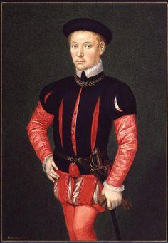 #8 1550 men's fashion slashed camicia reminiscent of the Italian Renaissance.