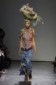 junya watanabe collection African inspired