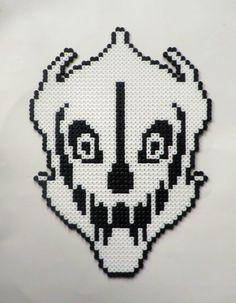 Napstablook Undertale Perler Bead Pattern Pixel Templates
