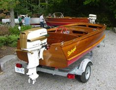 Trent Severn Antique & Classic Boat Association fosters an appreciation of historical vessels. Classic Boat, Classic Wooden Boats, Boat Restoration, Vintage Boats, Old Boats, Wheelbarrow, Fishing Boats, David, Antiques