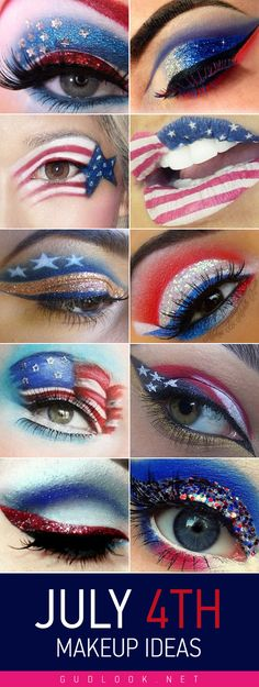 July 4th makeup ideas 2015 by gudlook