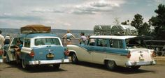 Wagons in vintage Street scenes - Page 150 - Station Wagon Forums Vintage Travel, Vintage Cars, Antique Cars, Classic Chevy Trucks, Classic Cars, Ford Ltd, Vintage Trends, Ford Motor Company, Station Wagon